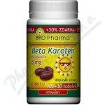 Bio-Pharma Beta Karoten 10 000 I.U. 130 kapslí