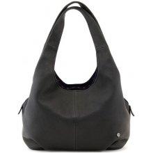 kožená Yoshi kabelka černá