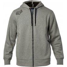 880911a5598 Fox Reformed Sherpa Zip Fleece Heather Graphic