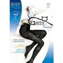 Punčochové kalhoty Gatta Body Relax medica 40 DEN nero/černý