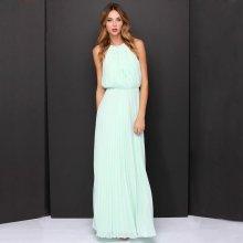 LM moda dlouhé letní šaty šifon antický styl 239 mentolová 1697a020be6