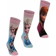 Character 3 Pack Socks Childrens Disney Frozen