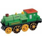 Lokomotiva na baterie - zelená