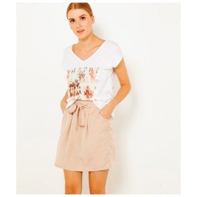 Camaieu sukně s kapsami starorůžová