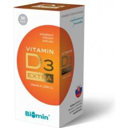 Biomin Vitamin D3 Extra 30 kapslí