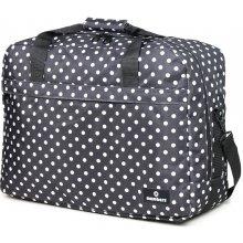Member's cestovní taška 40L SB-0036 černá/bílá