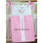 Mamo-Tato Luxusní kapsář na plenky Houpačka růžová