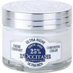L'Occitane Karité výživný zklidňující pleťový krém (Ultra Rich Comforting Cream 25 % Karité) 50 ml