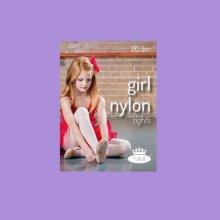 Boma dívčí punčochy girl nylon tights Violet