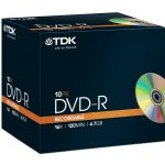 TDK DVD-R 4,7GB 16x, 10ks