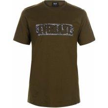 Everlast Camo T Shirt Mens Khaki