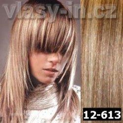 HUSTÁ clip in sada - světlounce hnědá plavá blond ( 12-613) 38 cm ... 28f7ee38afe