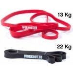 Workout set odporových gum 22 + 13 kg