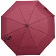 s.Oliver Dámský skládací mechanický deštník Basic Uni berry 70865SO22