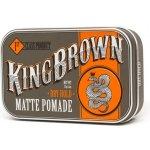 King Brown pomáda na vlasy Matte středně tužící 75 g