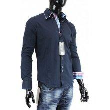 Carisma Košile pánská H-110 dlouhý rukáv Slim Fit CSH110TM 38ebaa4475