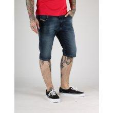 Diesel KROshort-NE CALZONCINI Jogg Jeans Modré