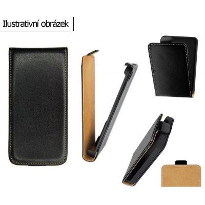 Pouzdro ForCell Slim Flip LG E610 Optimus L5 černé
