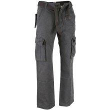 QUATRO kalhoty pánské kapsáče Q2-5, šedá