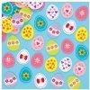 Plstěné samolepky - velikonoční vejce (64ks)