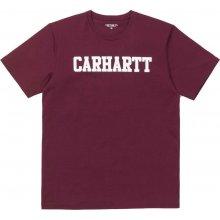 Carhartt College S/S vínová