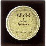 NYX Professional Makeup Chrome oční stíny 3 Olive 2 g