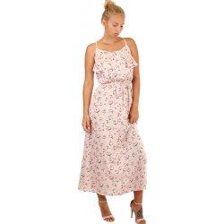 Dámské šaty Letní maxi šaty s květinovým vzorem 242487 růžová 9c9903b602