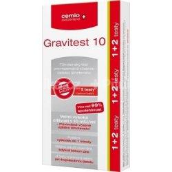 Cemio Gravitest 10 mlU/ml 3ks