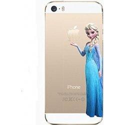 Pouzdro Apple iPhone 5 5S Funny Frozen Elsa Ledové Království gelové ... 62085440d59