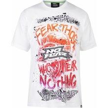 No Fear Core Graph T Shirt Mens Fear/White