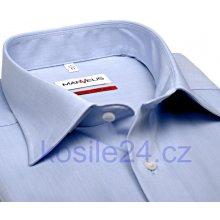 Marvelis Slim Fit Chambray – světle modrá košile