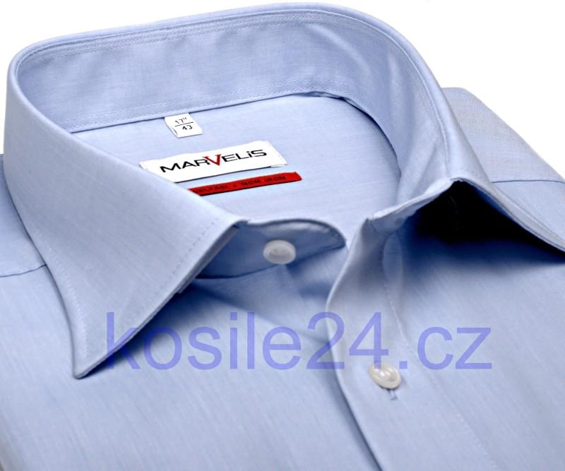 4094b0d5906 Marvelis Slim Fit Chambray světle modrá košile od 990 Kč - Heureka.cz