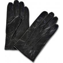 kožené rukavice pánské černé 1073 černá