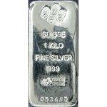 PAMP Stříbrný slitek 1000 g
