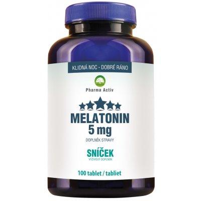 Pharma Activ Melatonin Sníček 5 mg Forte 100 tablet