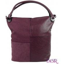 60a17906f6 New Berry Kombinovaná dámská kabelka NH8028 vínově červená
