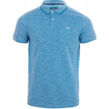 Bewley And Ritch Mens Teal Polo Shirt Turquoise