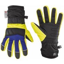 c070f3b5094 Crivit®Pro Chlapecké lyžařské rukavice černá žlutá