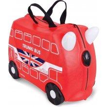 Trunki dětský kufřík odrážedlo Autobus Boris červený