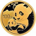 Panda Zlatá mince 8 g 2019