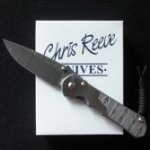 Chris Reeve Sebenza 25 CGG Stainless Damascus Ladder