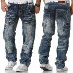 KOSMO LUPO kalhoty pánské KM040 jeans džíny jeans d37aa0896a