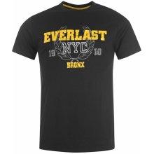 Everlast Classic Extra T Shirt Mens Black