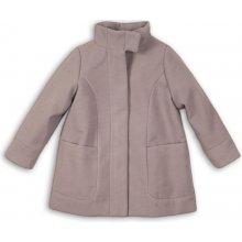 Minoti Artisan 10 Kabát dívčí vlněný s vysokým límcem šedá fa42cdb8f0