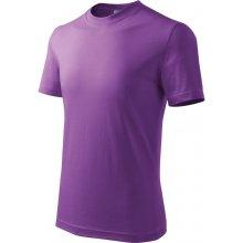 Adler tričko dětské Basic fialová