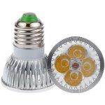Light LED žárovka bodovka E27 4W bílá teplá