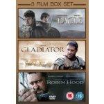 Kolekce - The Eagle / Gladiator / Robin Hood DVD