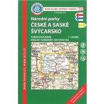 Mapa KČT 1:50 000 12 Národní parky České a Saské Švýcarsko (7.v. 2015)