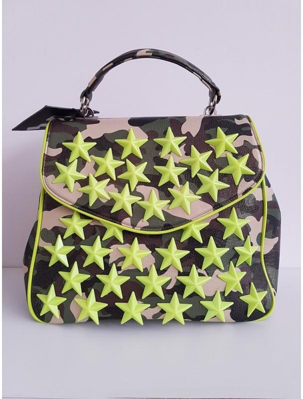 11b62ced7b0 luxusní maskáčová kabelka s hvězdami Army zelená alternativy - Heureka.cz