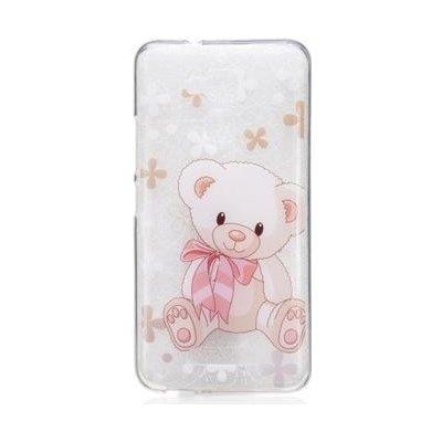 Pouzdro Softy gelové Asus Zenfone 3 Max ZC520TL - medvídek